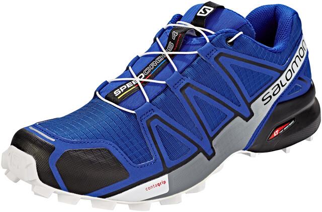 Salomon Speedcross 4 Schoenen Heren, mazarine blue wilblackwhite